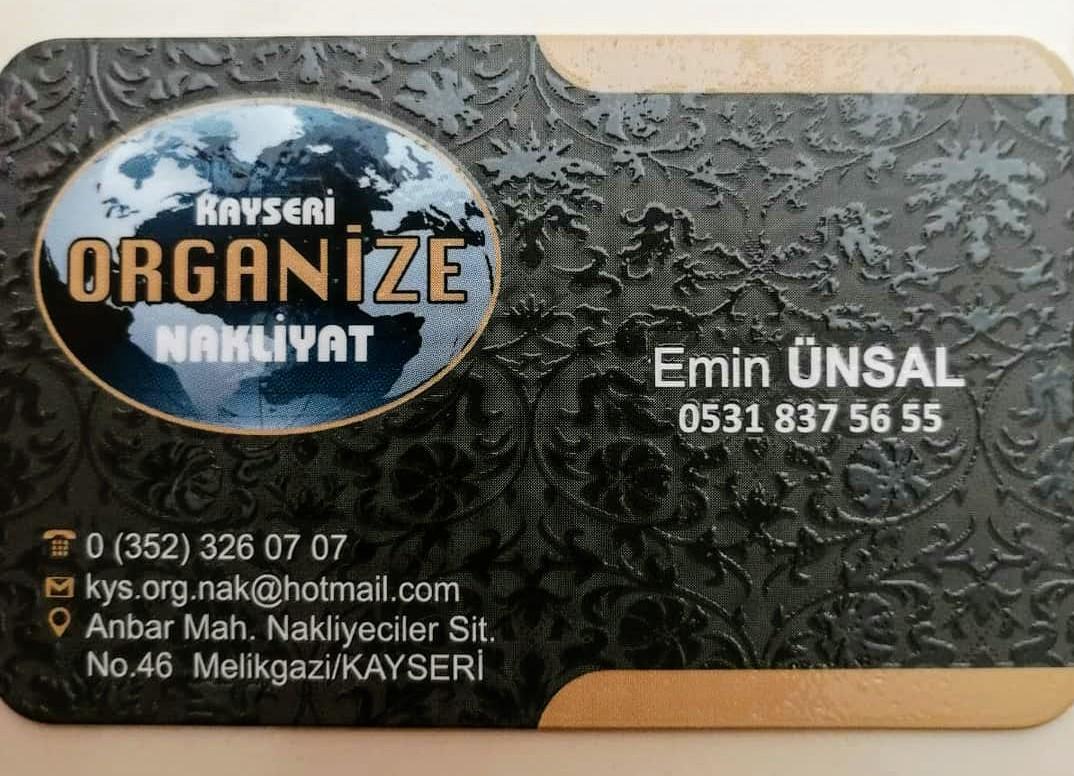Kayseri Organize Nakliyat